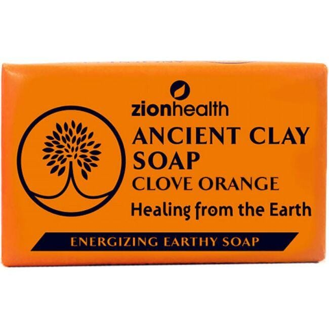 Zion Health Ancient Clay Soap - Clove Orange