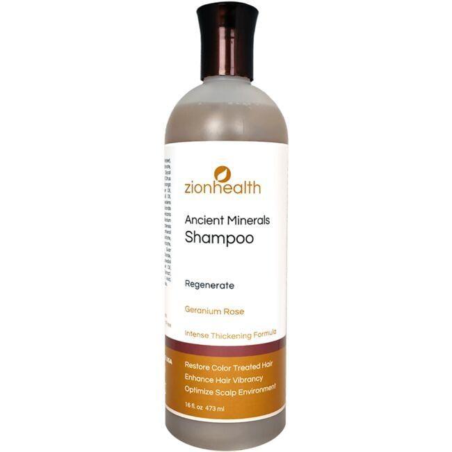 Zion HealthRegenerate Shampoo - Geranium Rose