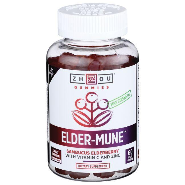 ZhouElder-Mune - Sambucus Elderberry with Vitamin C and Zinc