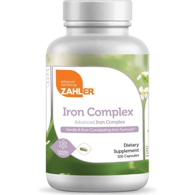 Advanced Nutrition By ZahlerIron Complex