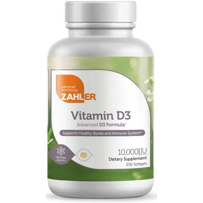Advanced Nutrition By ZahlerVitamin D3